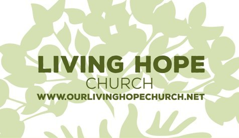 Living Hope Church – I Peter 1:3