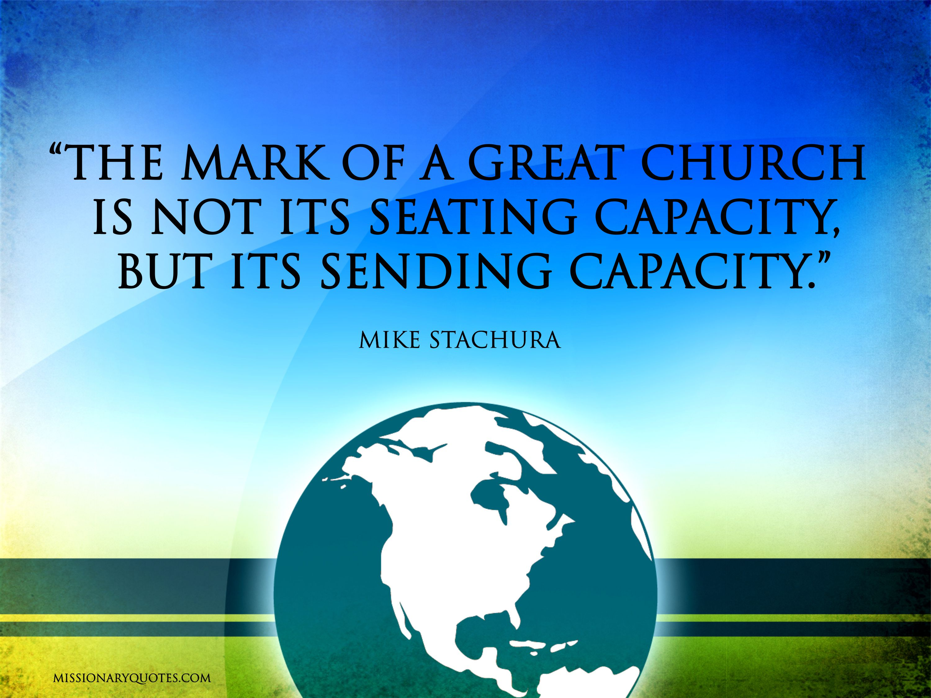 The Mark of a Great Church - Mark Stachura