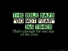 365 Times - Do Not Fear